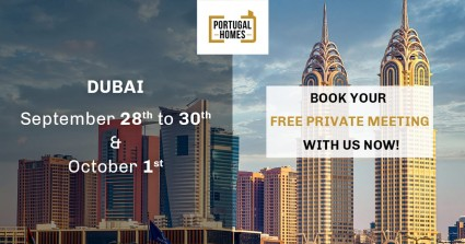Investing in Portugal through Dubai? Meet Portugal Homes from September 28th to October 1st!