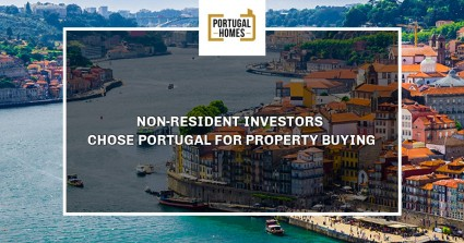 Non-Resident investors chose Portugal for property buying