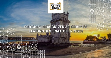 Portugal recognized as Europe's Leading Destination in 2020!
