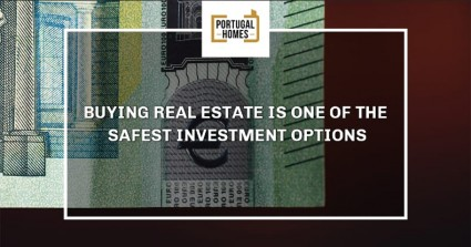 Buying real estate is one of the safest investment options