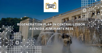 Regeneration plan in central Lisbon
