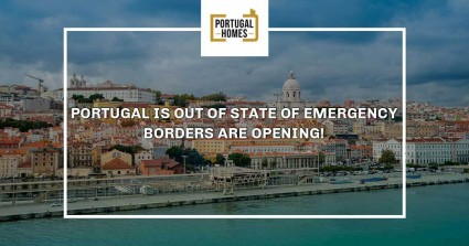 Portugal is out of state of emergency - borders are opening!