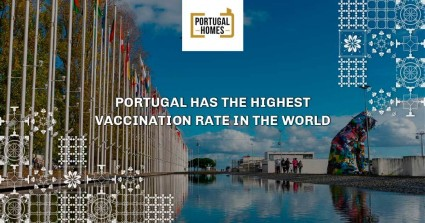 Portugal has the highest vaccination rate in the world