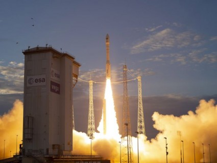 European satellite with Portuguese tech launched