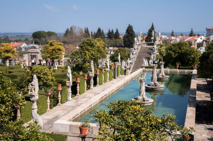 Garden of the Bishop's Palace Portugal Home - Portugal propety experts