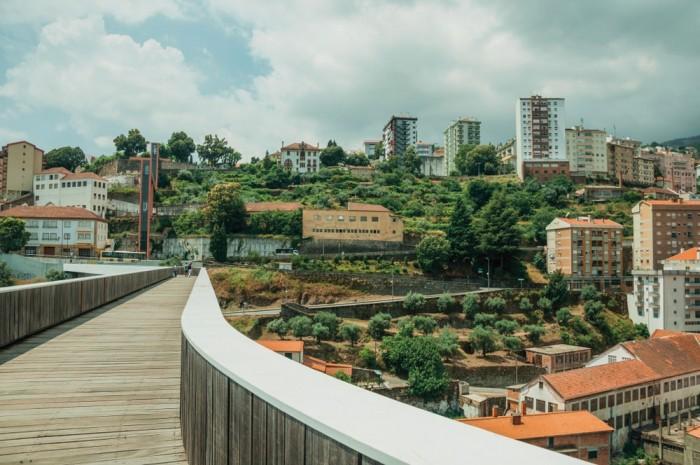 Pedestrian Bridge of Carpinteira Portugal Home - Portugal propety experts