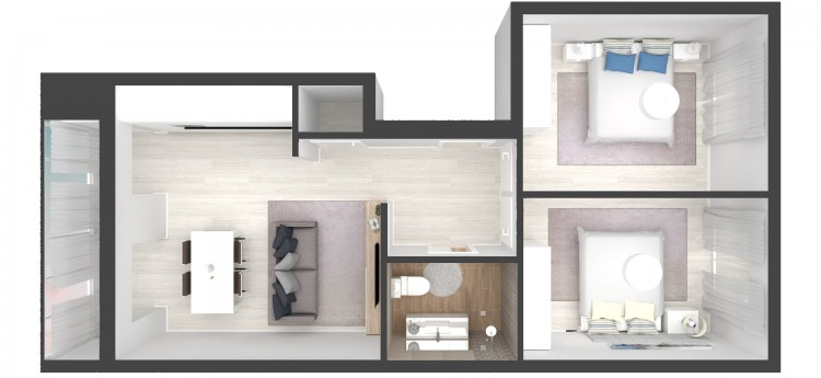 2 + 3 Bed Apartment for sale in Setúbal, Portugal