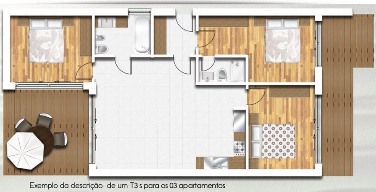 3 Bed Apartment for sale in Nazaré, Portugal
