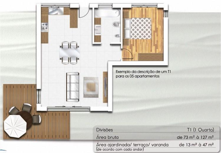 1 Quartos Apartamentos en venta en Nazaré, Portugal