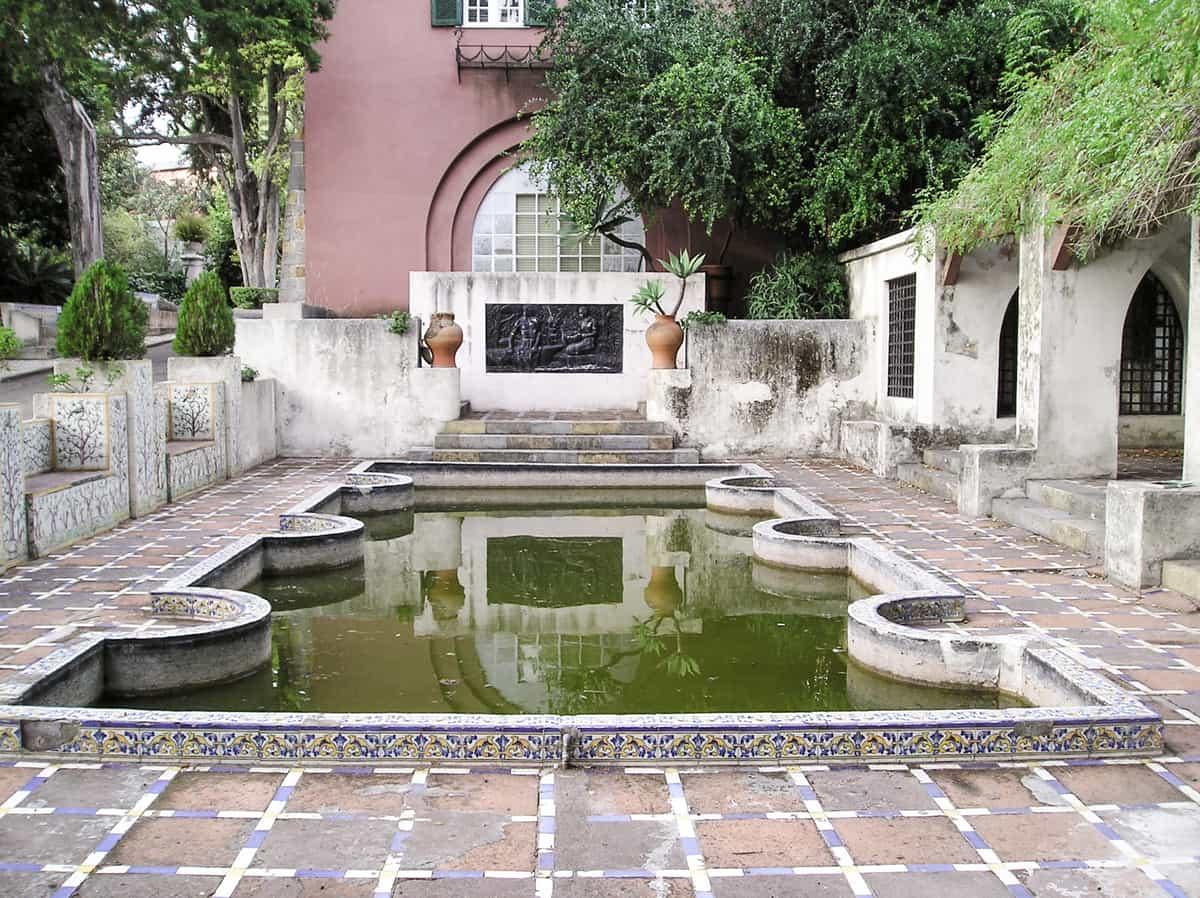 Jardim Botanico Tropical garden in Lisbon