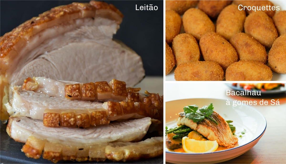 Portugal Leitao, Croquettes and Bacalhau