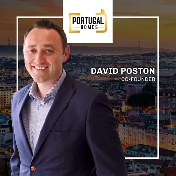 David Poston Portugal Homes Founder