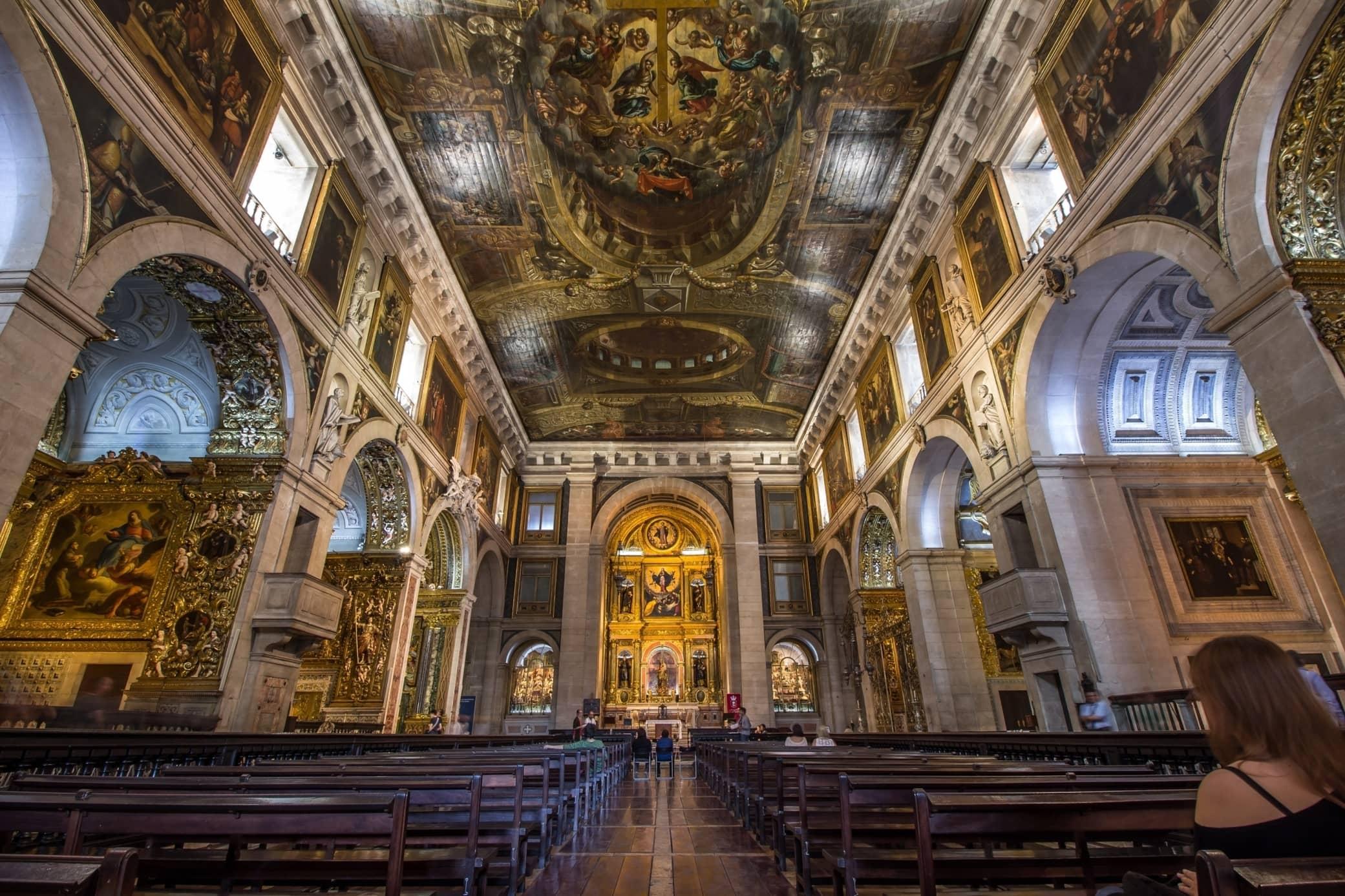 Sao Roque Church Lisbon Baixa Chiado